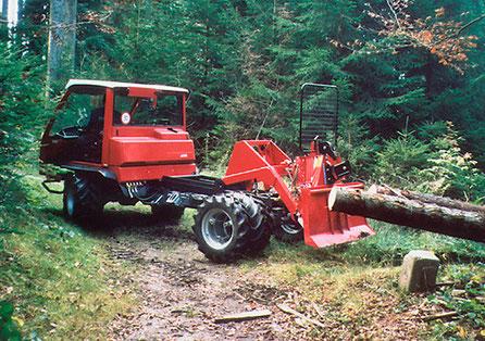 Holzrückgerät