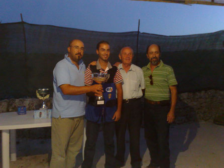 1° CLASSIFICATO 1° TROFEO T.A.V. MODICA