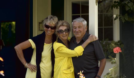 Unsere Gastgeber: Myriam, HIlde, Max
