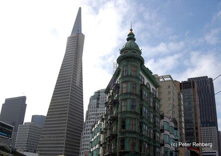Transamerica Pyramide, Sentinel Building San Francisco, Peter Rehberg