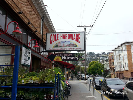 Cole Hardware, San Franciso, Peter Rehberg