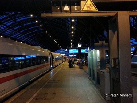 Hauptbahnhof Köln, Peter Rehberg