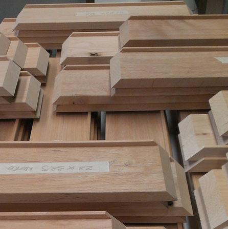 Siamo in grado si creare o modificare sagome a seconda delle particolari esigenze di montaggio delle vostre opere.  Tutto il nostro legname proviene da fonti certificate FS.
