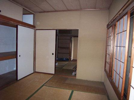 2階和室 ビフォー