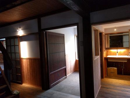 大島区の古民家