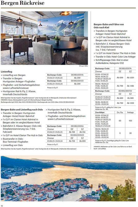 Hurtigruten bei Singer reisen und versicherungen preiswerter buchen... &
