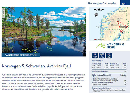 Norwegen & Schweden Aktiv im Fjell