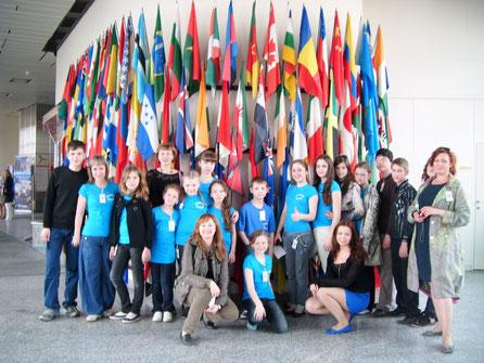ДЕТИ-МИССИЯ МИРА  2010, ООН
