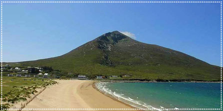 Mount Slievemore and Silver Strand