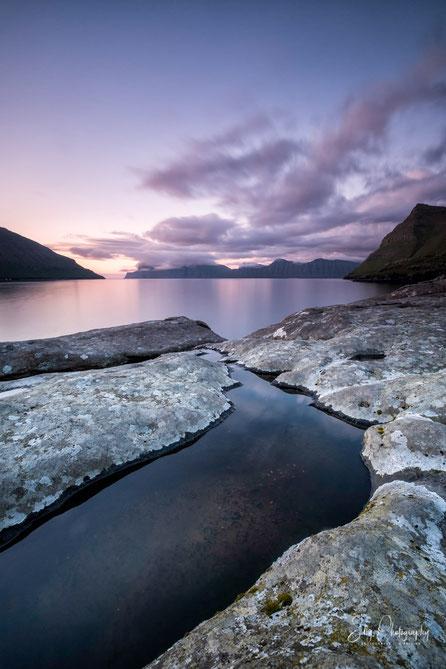 Färöer / Faroe Island, Elduvik, Langzeitbelichtung, 2017, ©Silly Photography