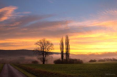 Landschaften, Stimmungen, Heimat, Sonnenaufgang, Sonnenuntergang, Oberfranken