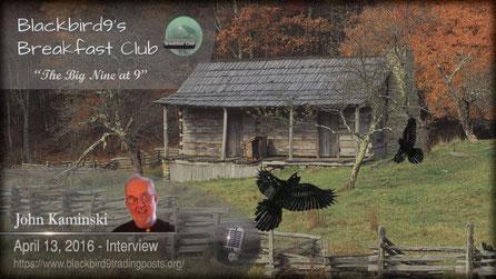 John Kaminski Interview - Blackbird9