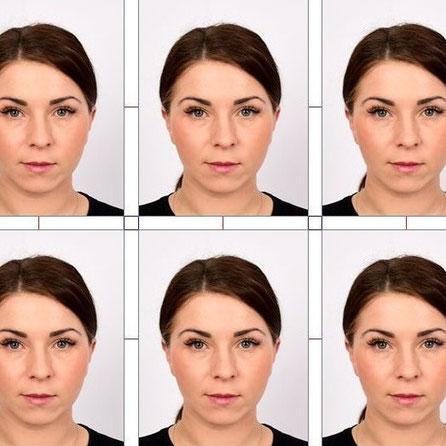 gezicht van een vrouw