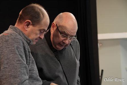 Gaël Moignot & Jean-Pierre Couthouis, adhérents de l'AMAC