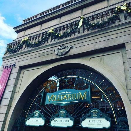 Eingangsbereich zum Voletarium