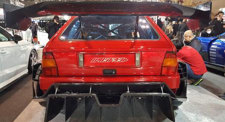 ランチア・デルタ・エボ2のカスタムカー 東京オートサロン2019