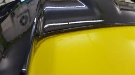 スイスポZC32Sの黒ずみ・水垢汚れ