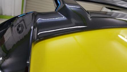 スイフトスポーツ・モンスタースポーツコンプリートカーの黒ずみ除去 水垢汚れ改善