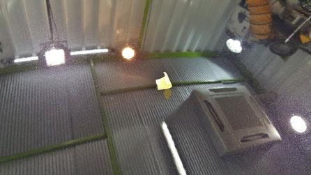 ボルボC30のボンネット磨き ブラックパールの研磨 塗装の曇り解消