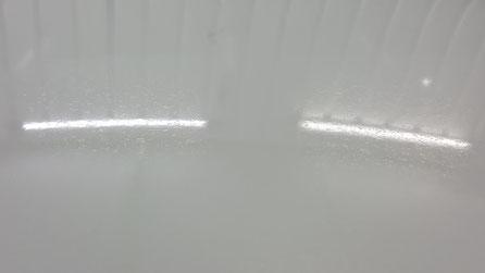 RX‐8のルーフの染み