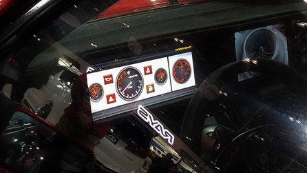 ランチア・デルタのカスタムカーを東京オートサロン2019に展示