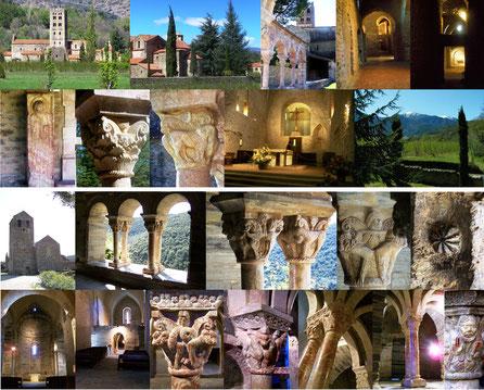 St Michel de Cuxa et Prieuré de Serrabone