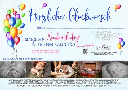 Geschenk Neugeboren Newborn Foto Deggendorf - kein Gutschein