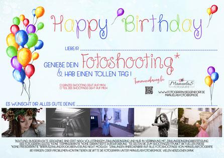 Geburtstag Foto Fotografin Deggendorf - kein Gutschein