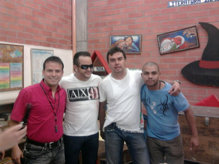 Juan Pablo - Nelson - Alex - Carlos
