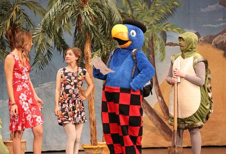 Globi und die Pirateninsel, theaterworks