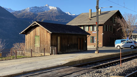 Bahnhof Hohtenn