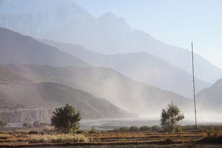Landschaft, Nebel, tiefenpsychologisch