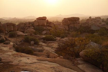 Felsen, Landschaft, Erdung