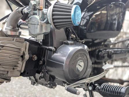 中華エンジン107cc リターン4速 マニュアルクラッチ
