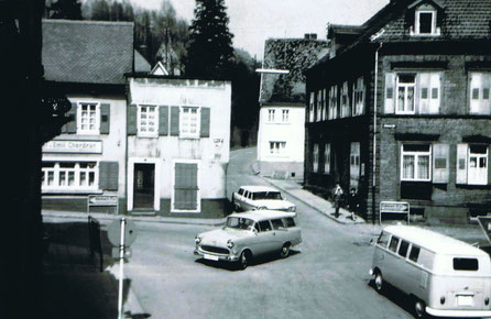 1960, Kreuzung Hauptstrasse