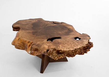 T1084 · Caucasian Walnut, American Black Walnut#arttable#table#coffeeetable#homedecoration#artcollector#sculpturel#coffeetable#woodworking#interiordesign#woodsculpture#art#woodart#wooddesign#decorativewood#originalartwork#modernwoodsculpture#joergpietschm