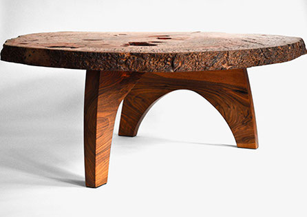 T1143 · Jarrah Burl, European Walnut#arttable#table#coffeeetable#homedecoration#artcollector#sculpturel#coffeetable#woodworking#interiordesign#woodsculpture#art#woodart#wooddesign#decorativewood#originalartwork#modernwoodsculpture#joergpietschmann#oldwood