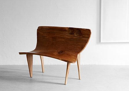Bench · B0039 · Oak#bench#stool#console#sculpture##woodworking#interiordesign#woodsculptures#art#woodart#wooddesign#decorativewood#originalartwork#modernwoodsculpture#joergpietschmann#oldwood
