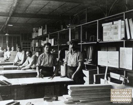 En 1859, à Asnières ont été inauguré l'atelier Louis Vuitton