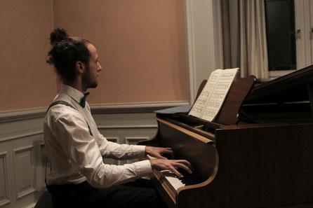 Joseph Sieber, Klavier