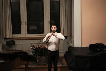 Salomo Schweizer, Oboe