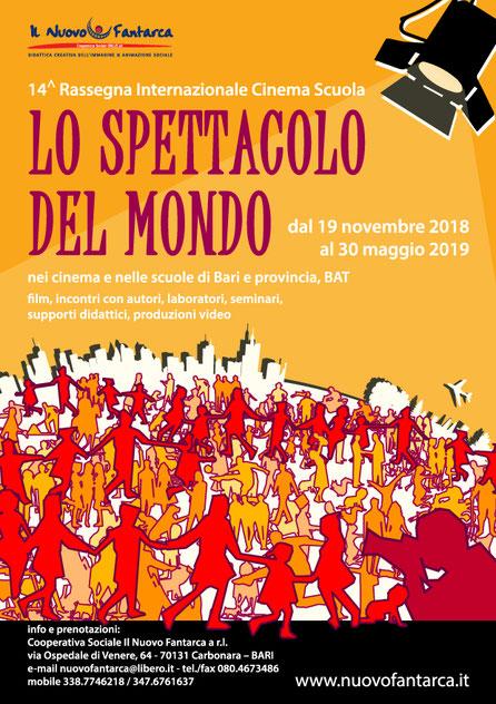 RIFLESSI SULLO SCHERMO - copertina del catalogo