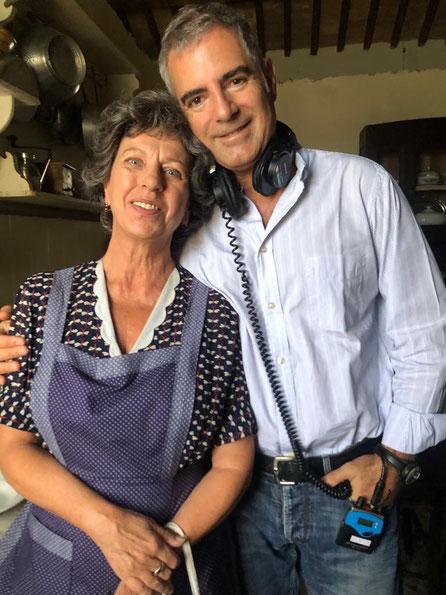 Paola Tziana con Luca Manfredi