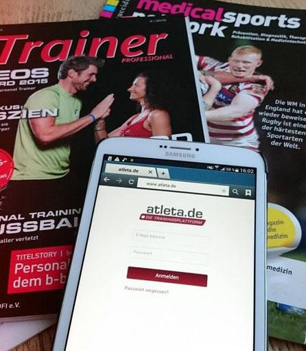 atleta.de ist der Online-Assistent und die Weblösung für Trainer