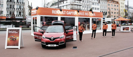 ROADSHOW | RENAULT CAPTUR SUMMER IN THE CITY