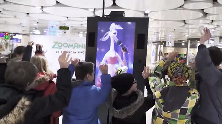 DIGITAL OUT-OF-HOME | WALT DISNEY ZOOMANIA