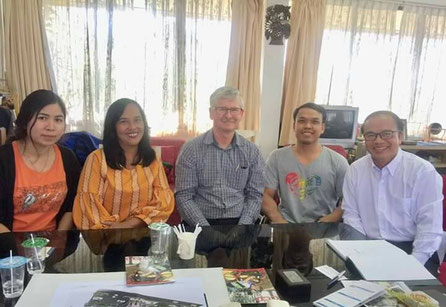 GBA's Terry Weir & Kamonchanok Janton meet with CCD's K. Wasan Saenwian