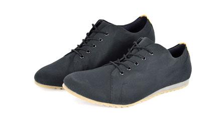 vegane sneaker schwarz wasserfest atmungsaktiv