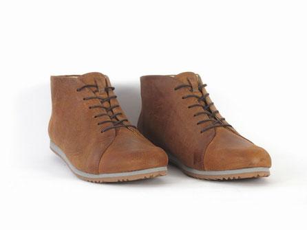faire schuhe sneaker ledersneaker ankle boots braun sorbas berlin