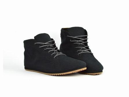 vegane schuhe schwarz warme wasserfeste atmungsaktive sneaker fair sorbas berlin
